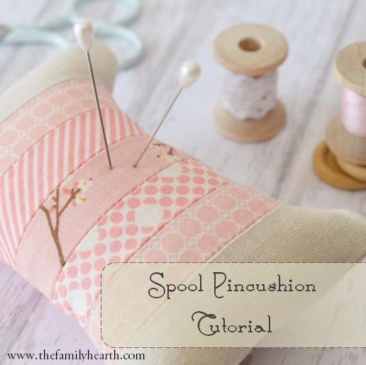 36 Spool Pincushion Tutorial