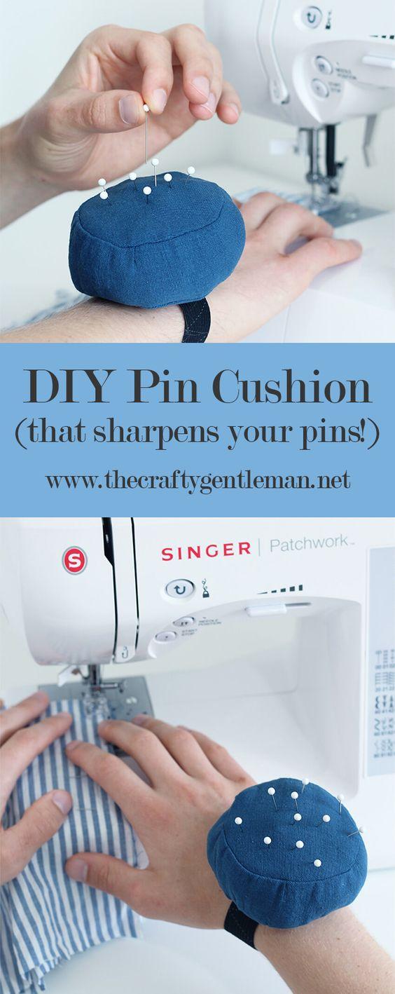 39 DIY wrist pincushion
