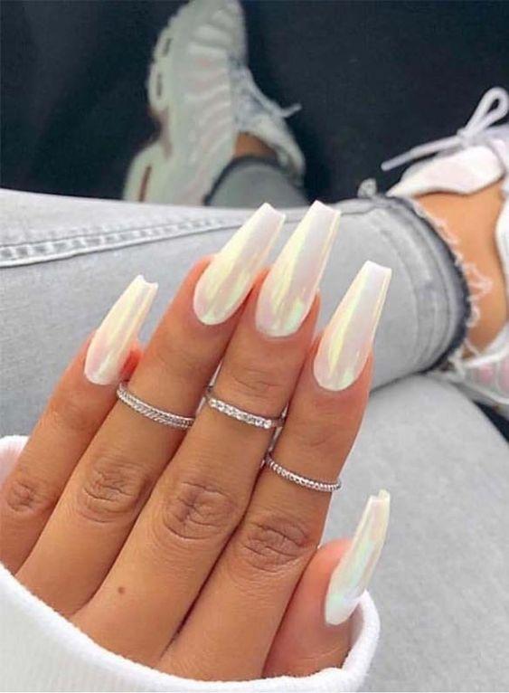 39 White Nail Art Designs
