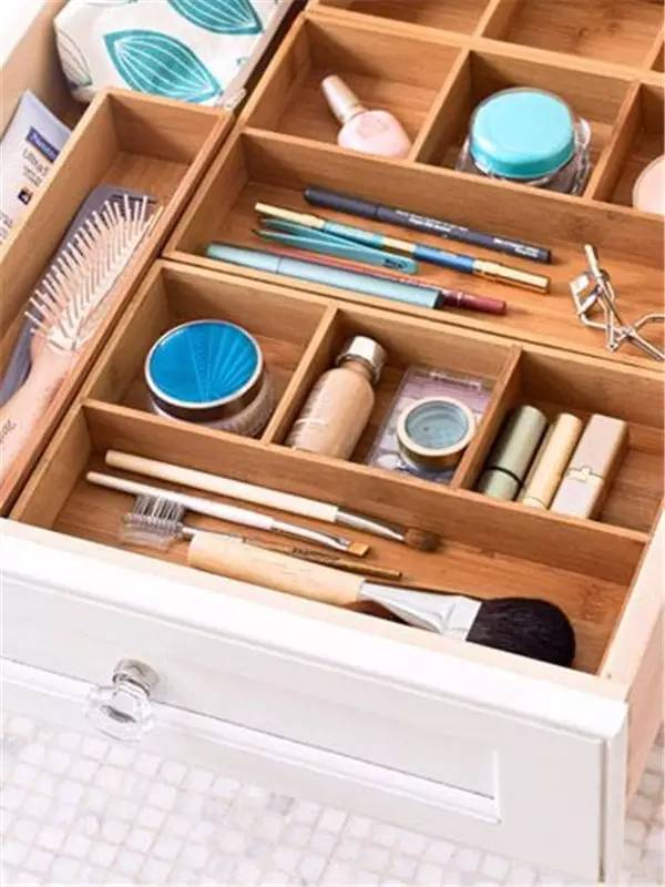 4 Bathroom drawer dividers