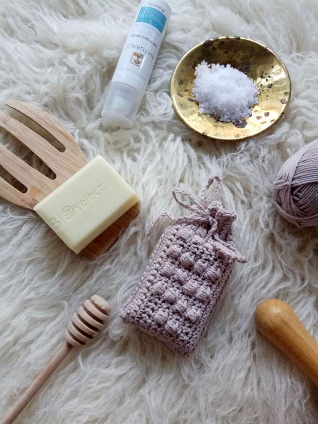 4 Soap saver crochet pattern