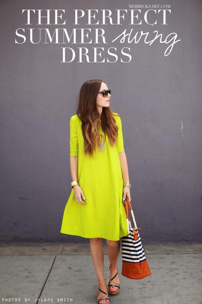 4 Summer Swing DIY Dress