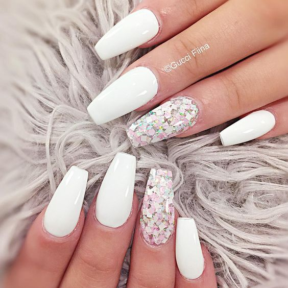 4 White Nail Art Designs