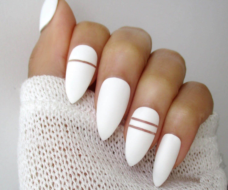 40 White Nail Art Designs