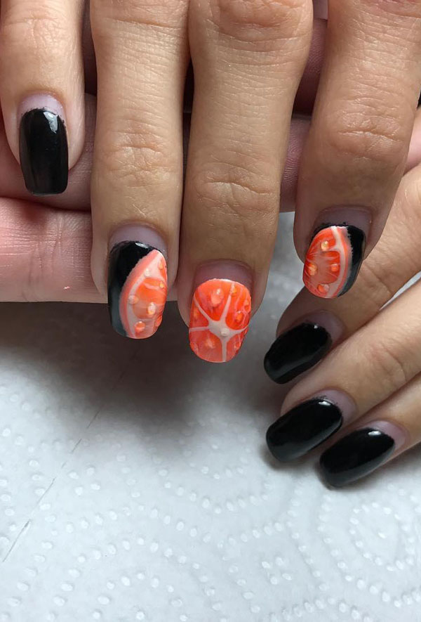 41 Fall Nail Art Designs