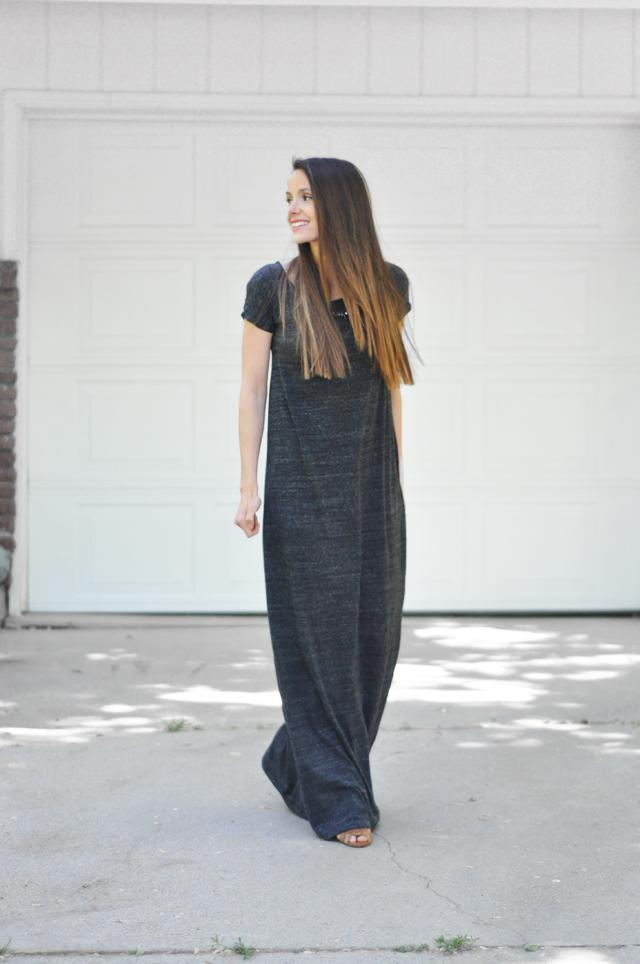 41 TEE SHIRT MAXI DRESS