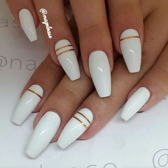 41 White Nail Art Designs