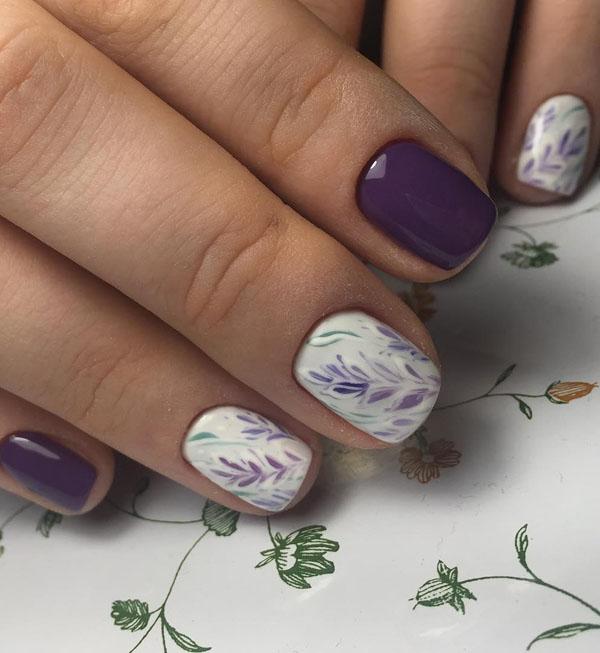 43 Fall Nail Art Designs
