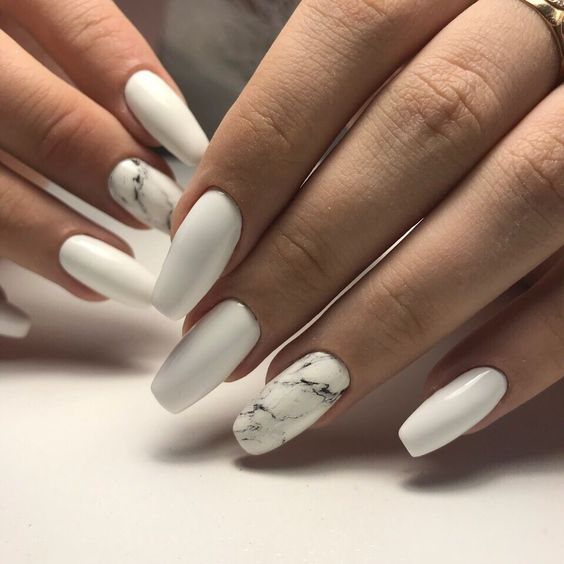 43 White Nail Art Designs