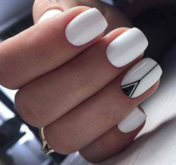 44 White Nail Art Designs