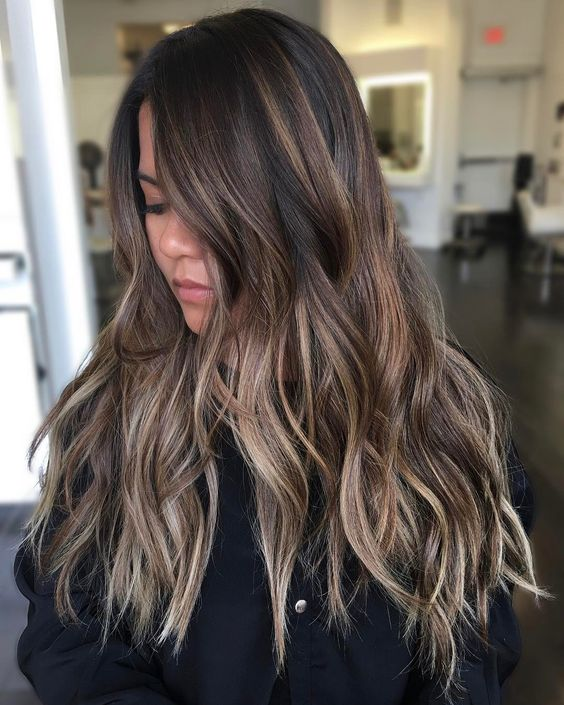 5 Brunette Balayage Hair