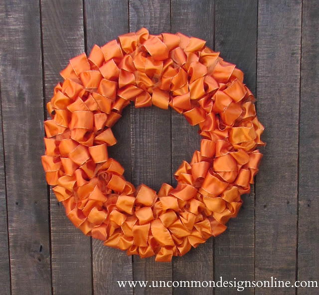 5 Make This Simple Ribbon Wreath