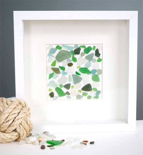 5 Sea Glass Art