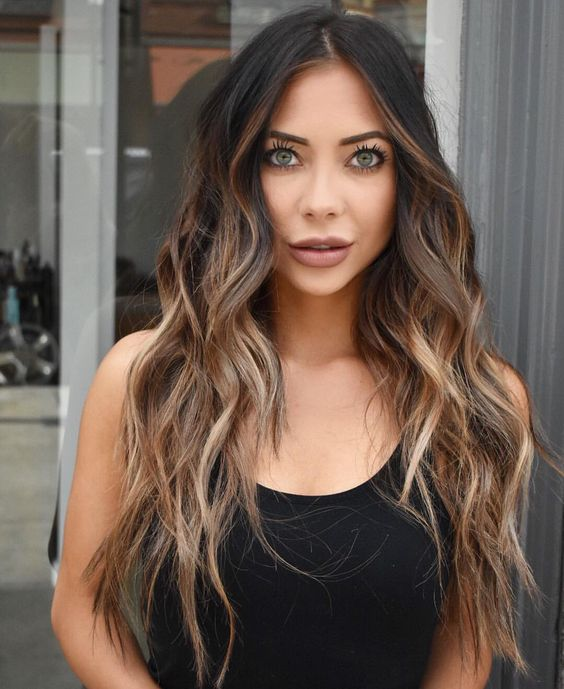 6 Brunette Balayage Hair