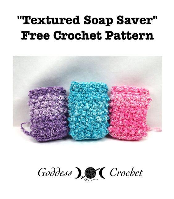 6 Textured Soap Saver