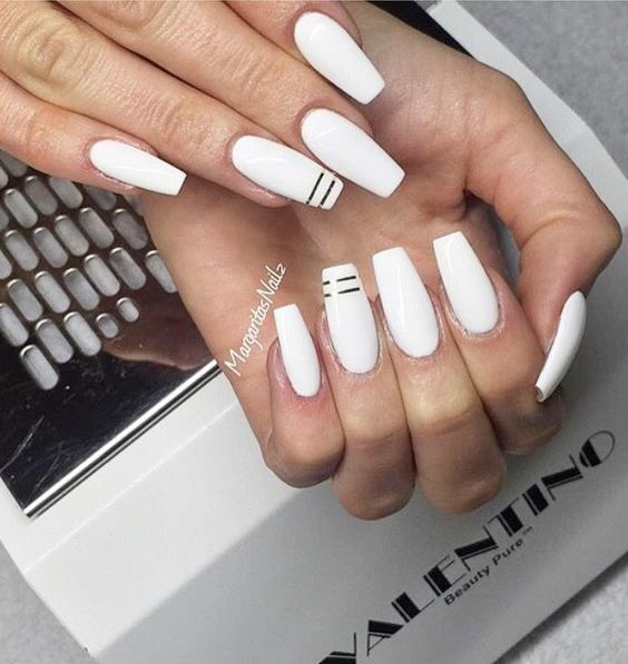 6 White Nail Art Designs
