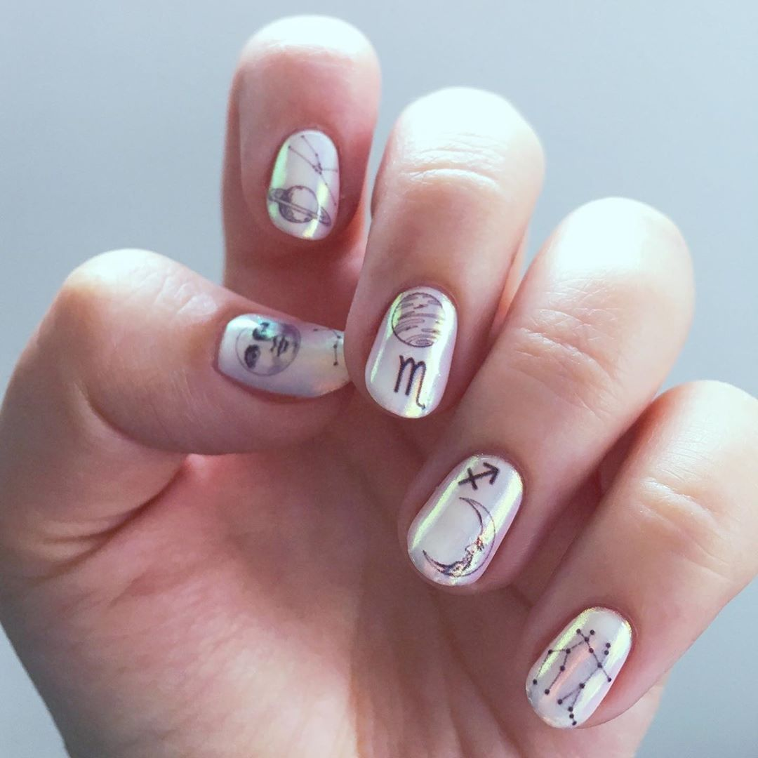 7 Short Gel Nail Designs