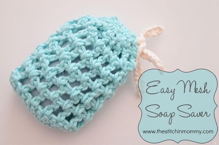 9 Easy Mesh Soap Saver