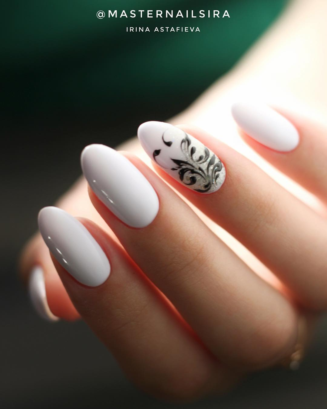 9 White Nail Art Designs
