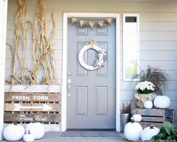 10 Neutral Fall Porch