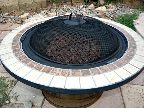 10 Whisky Fire Pit
