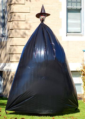 11 Halloween Trash Bag Witch