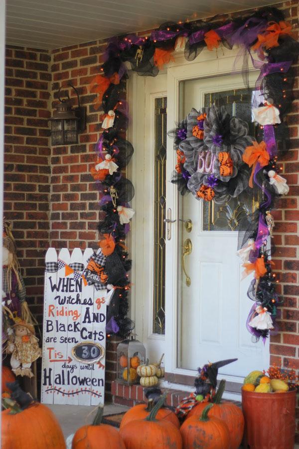 2 Picket Fence Halloween Countdown