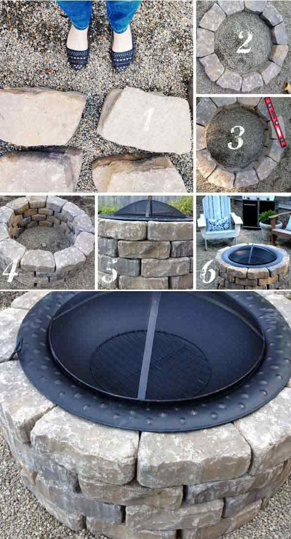 21 Easy DIY Firepit