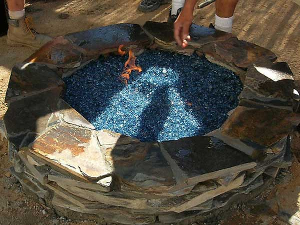 24 Stone Fire Pit
