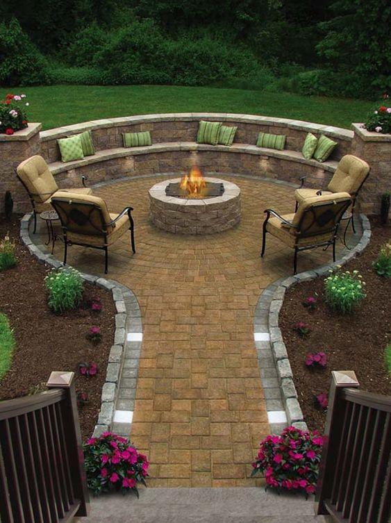 31 cozy fire pits