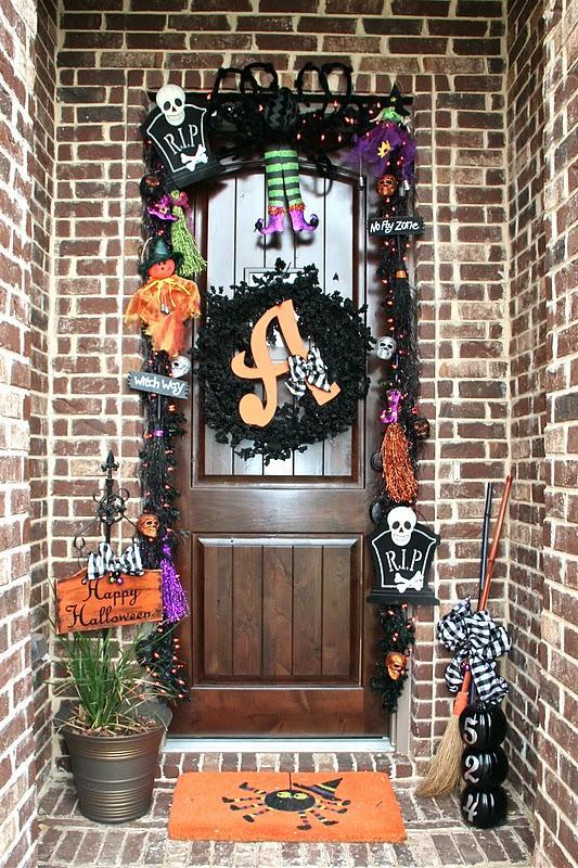 38 Happy Halloween Front Porch