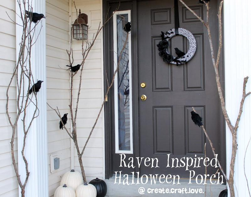 4 Raven Inspired Halloween Porch