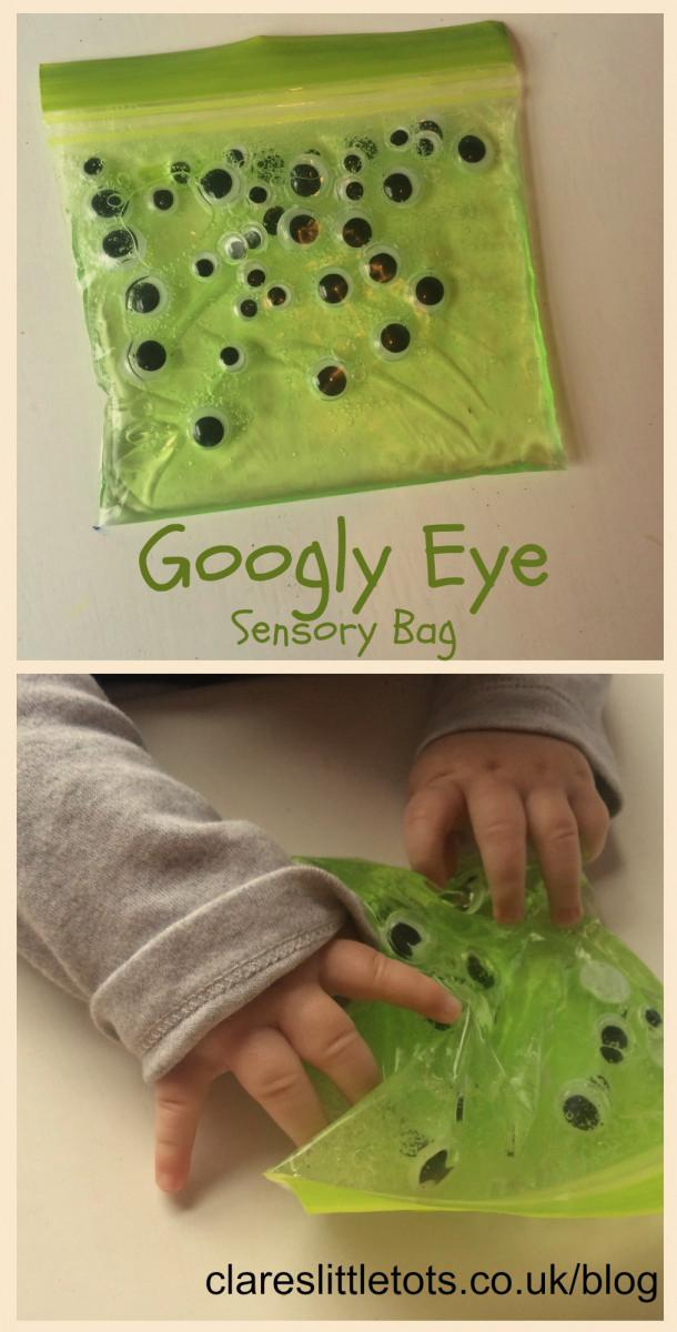 1 Googly Eye Sensory Bag