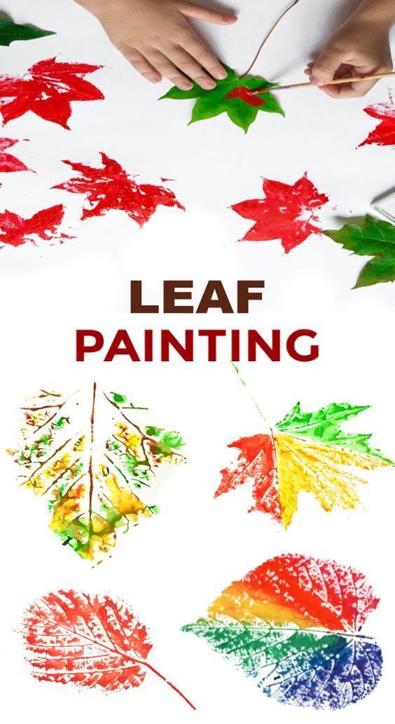 1 Leaf Painting