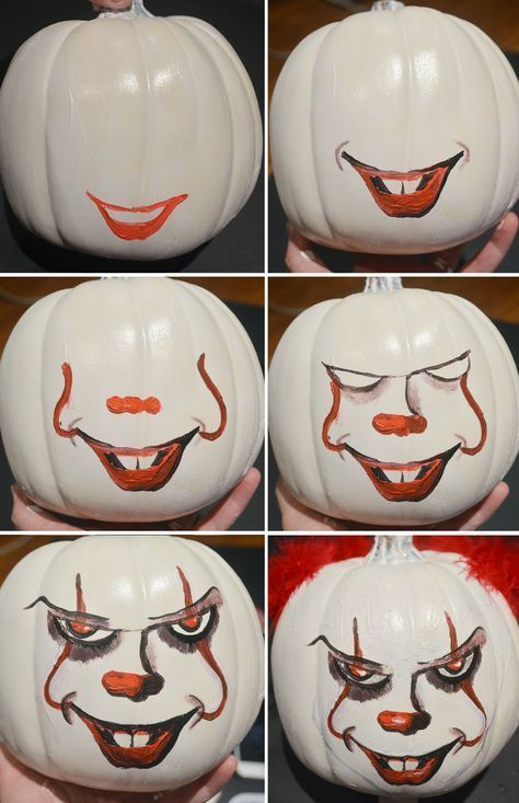 1 Paint Your Own Pennywise Pumpkin