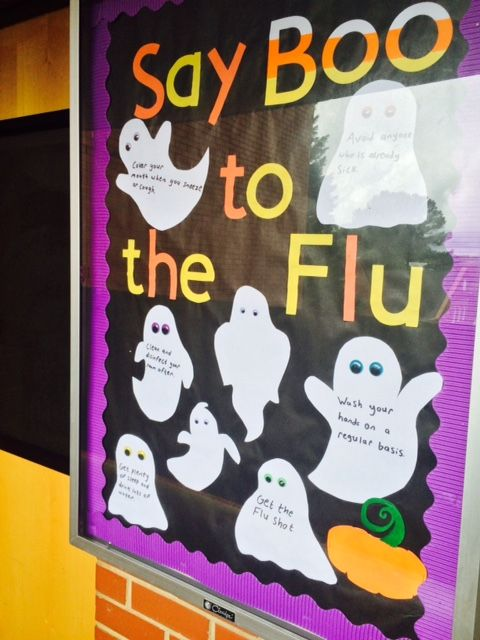 11 Say Boo to the Flu