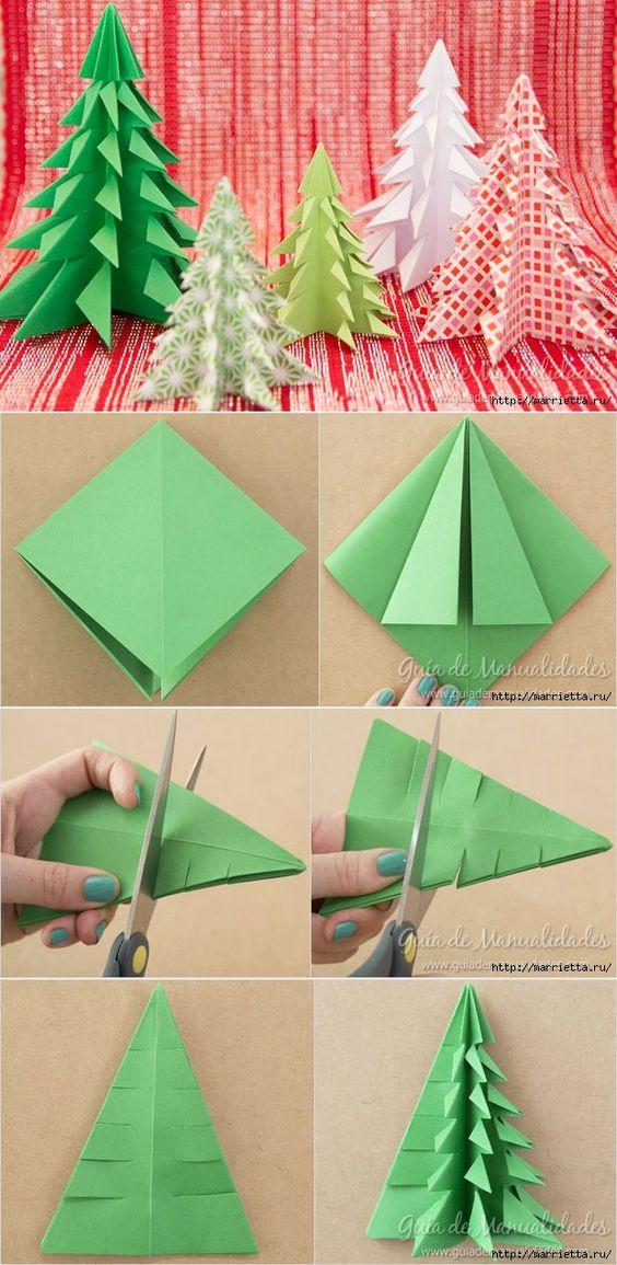 13 Origami Christmas Tree