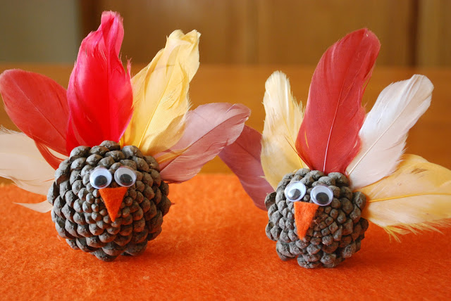 13 Pinecone Turkeys