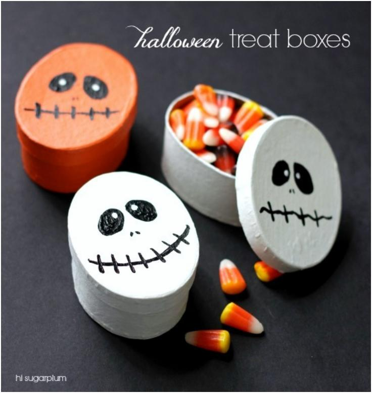 14 Halloween Easy Treat Boxes