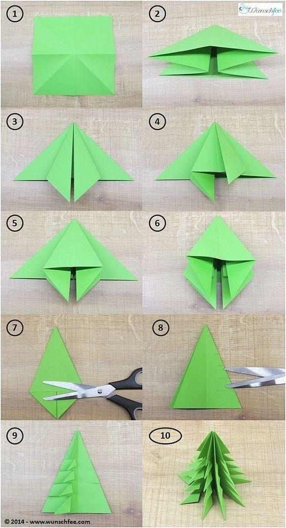 14 Origami Christmas Tree