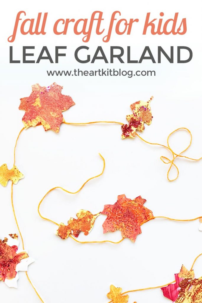 15 Leaf Garland Fall Craft