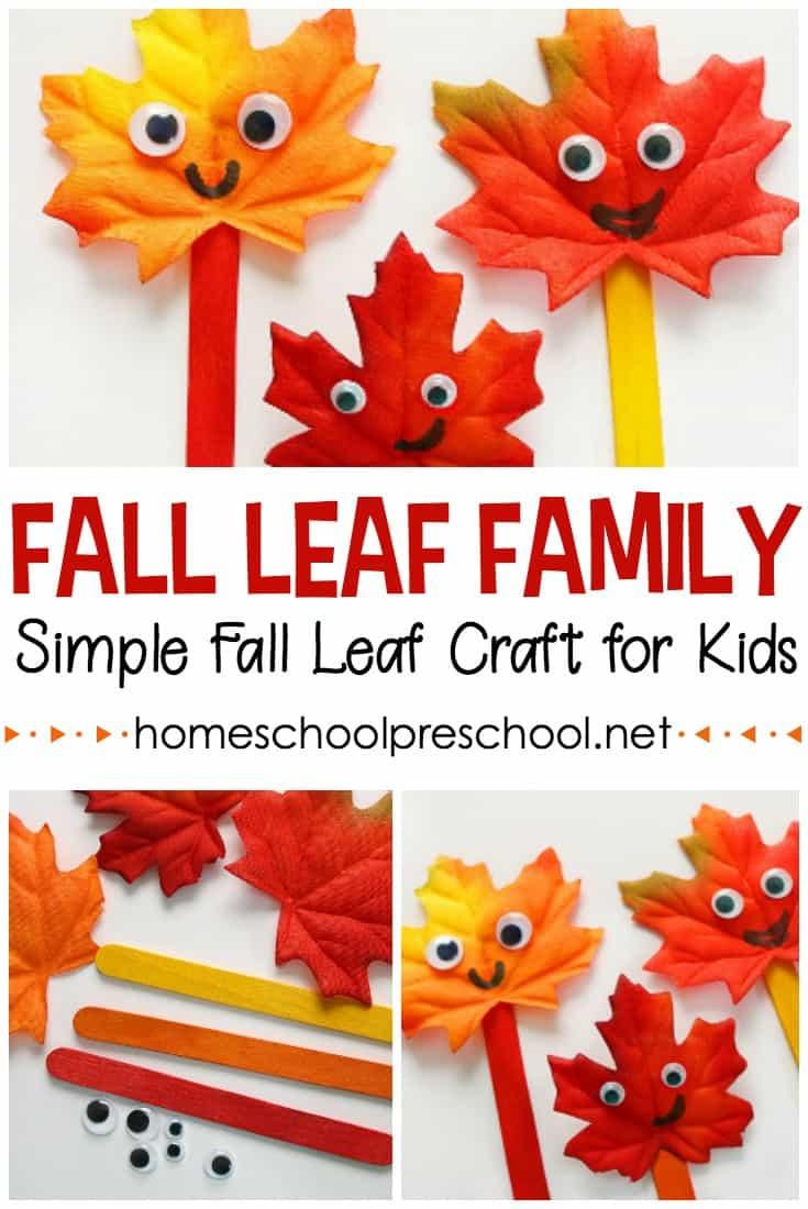 16 Fall Leaf Family