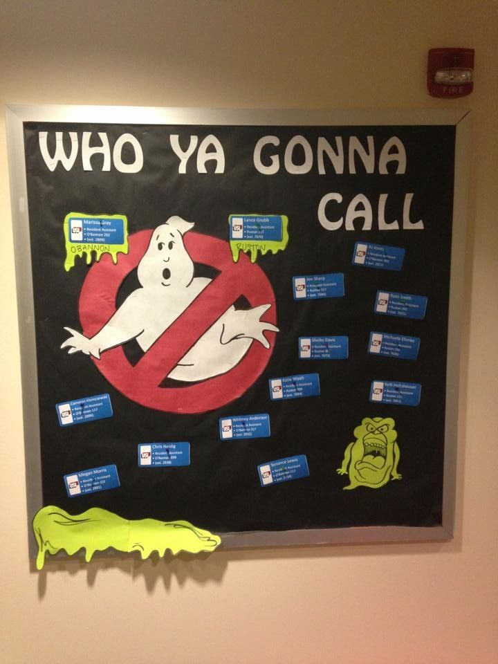 16 Who Ya Gonna Call