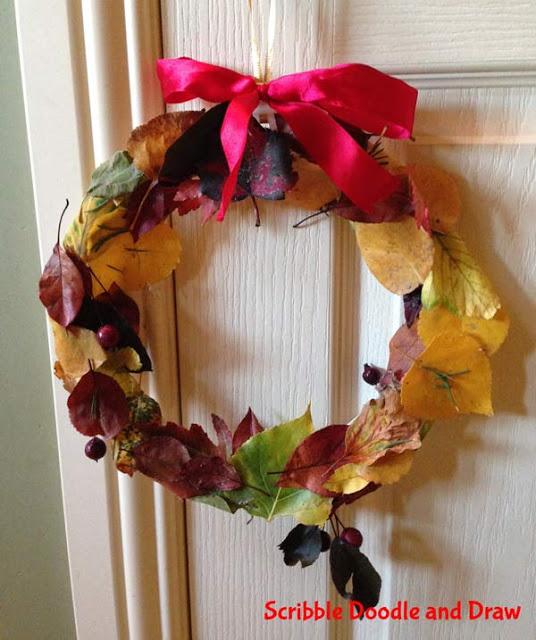 17 Autumn Fall Wreath