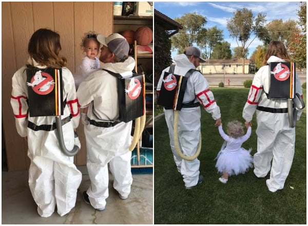 17 Ghostbuster Family Costumes