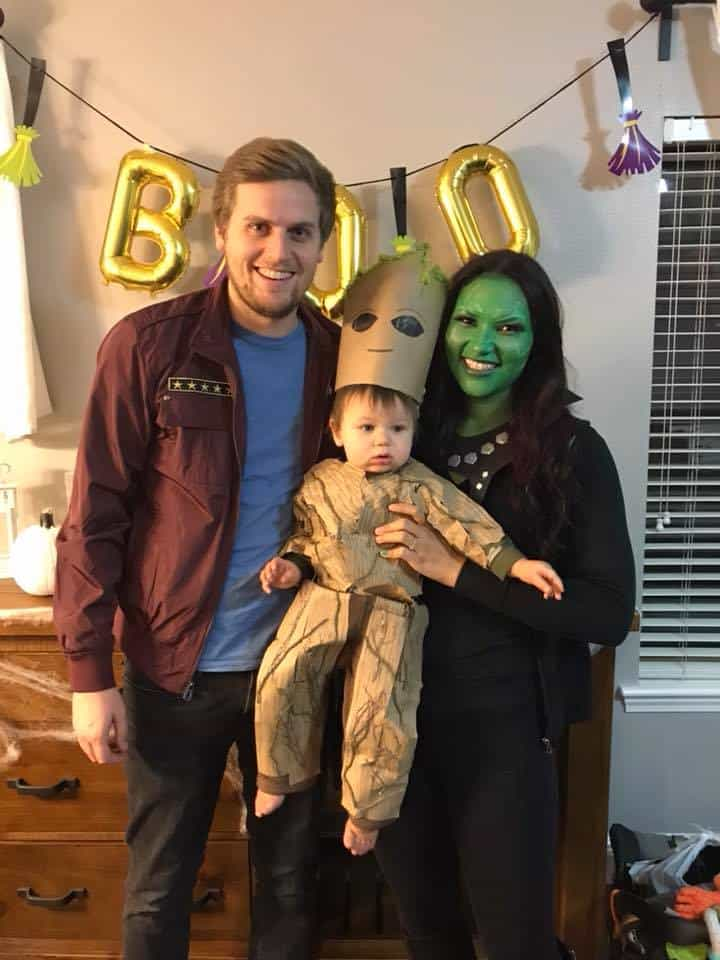 2 Galaxy Family Costumes