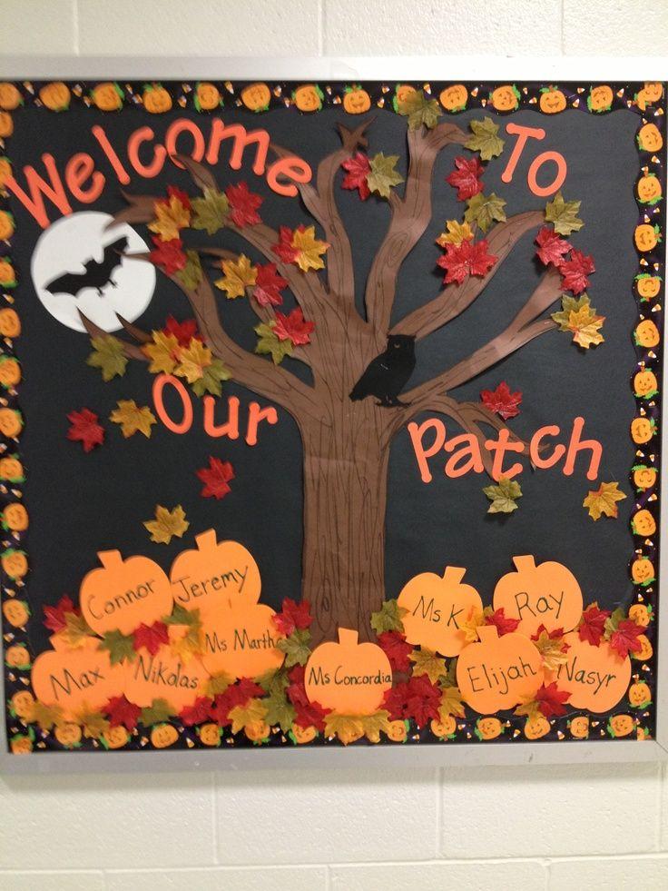 2 Pre-K Bulletin Board
