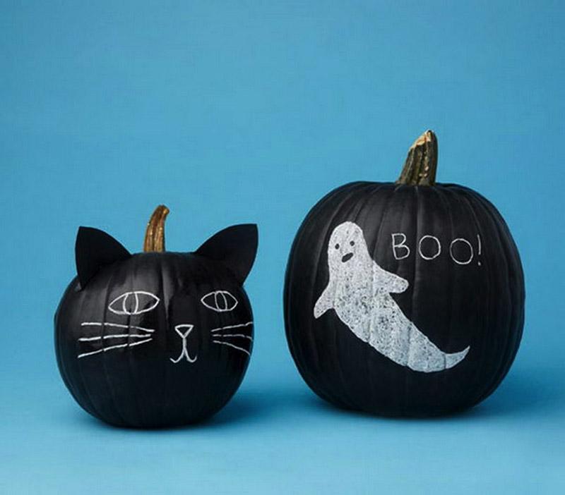 2 The Black Cat Pumpkin