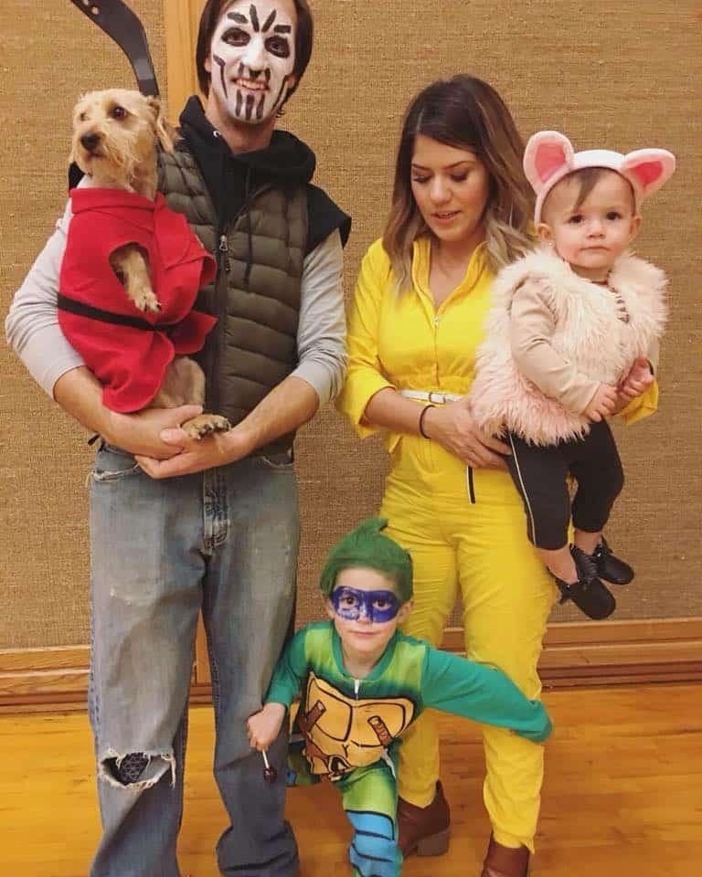 22 TMNT Family Costumes