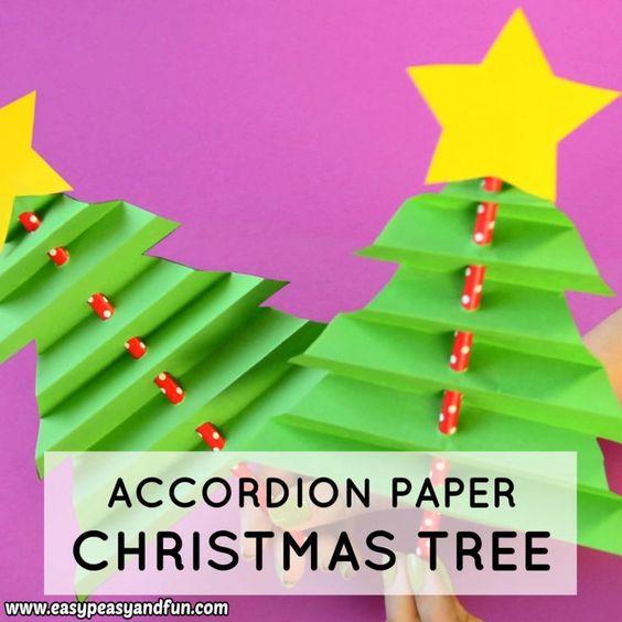 23 Accordion Paper Christmas Tree